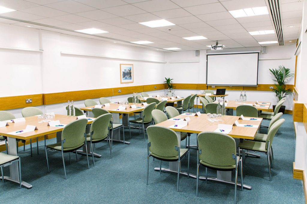 The George Fox room at the The Priory Rooms meeting venue in Birmingham