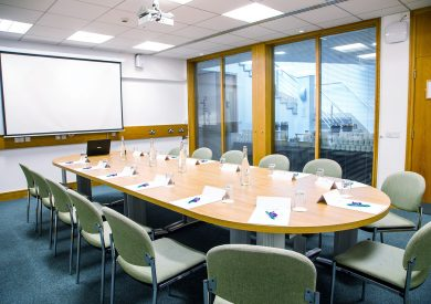 The Elizabeth Fry room at the The Priory Rooms meeting venue in Birmingham