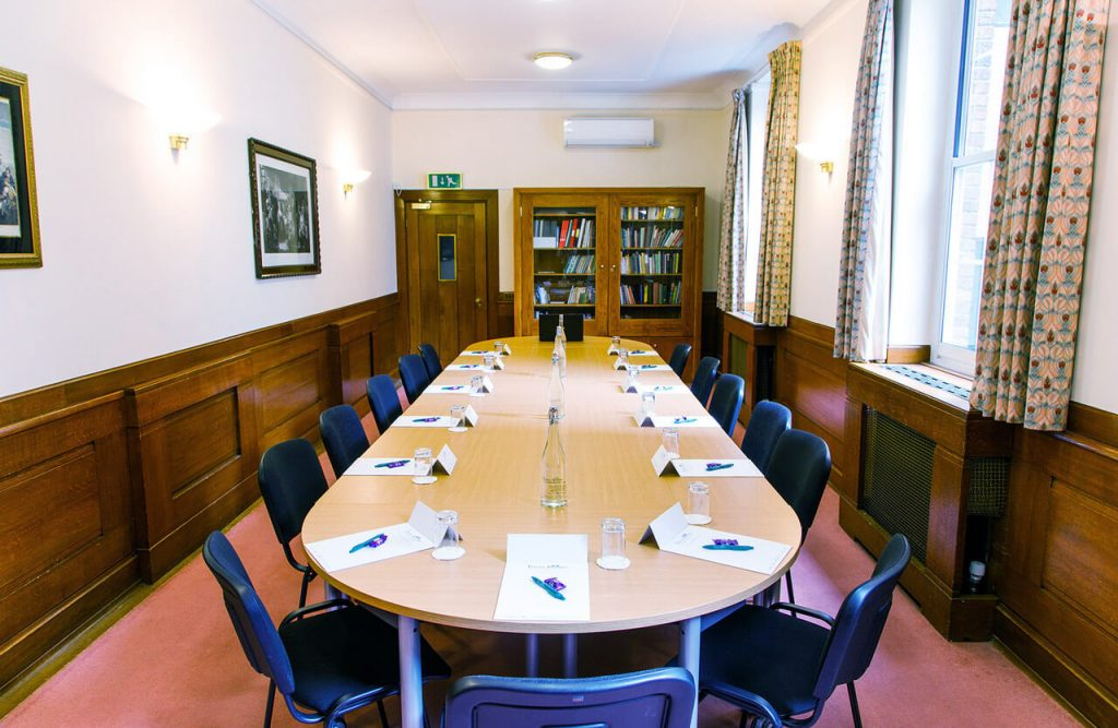 The Reading room at the The Priory Rooms meeting venue in Birmingham