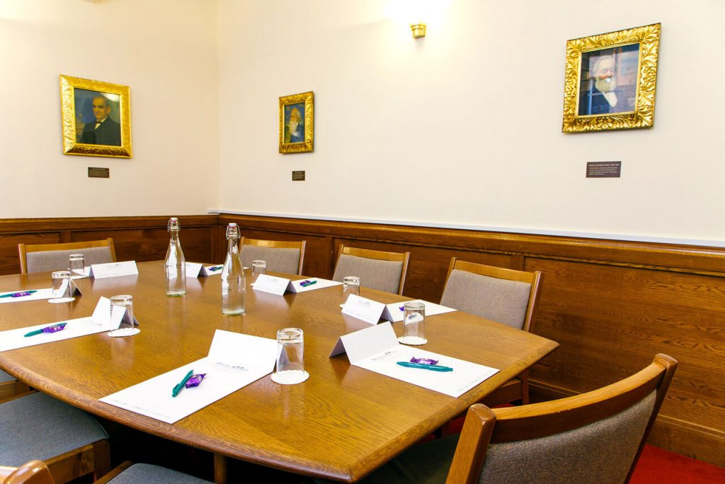 The Southall room at the The Priory Rooms meeting venue in Birmingham